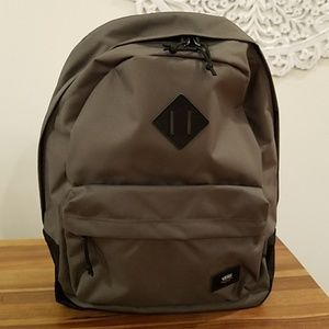 f9696f07a6 Vans green and black backpack
